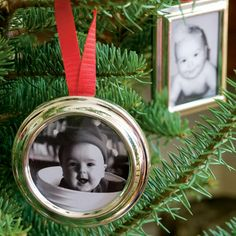Family Tree  - create a family tree at Christmas with small picture frames of ancestors and current family members