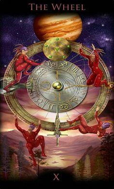 Divine Tarot, Daily Tarot, Healing Words, Wheel Of Fortune, Cool Stuff, Goddesses, Painting, Decks, Vintage