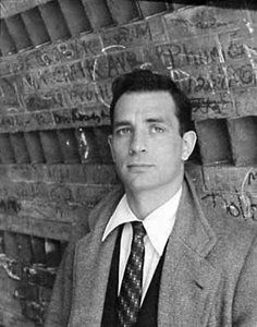 Kerouac - Classic style of a barely put together drunk