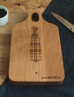 Tabla de madera para el día del padre