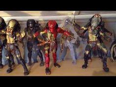 Predator Action Figure Collection
