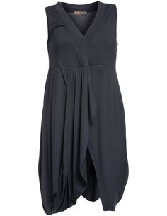 Long jersey tank top in Graphit-Grey designed by Exelle to find in Category Tops at navabi.de