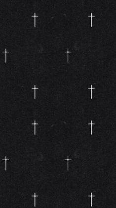 Dark crosses background wallpaper