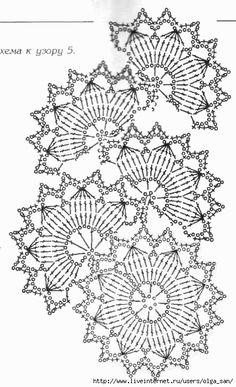 Crochet Tablecloth Pattern, Crochet Lace Edging, Crochet Doily Patterns, Crochet Round, Crochet Squares, Thread Crochet, Crochet Doilies, Crochet Flowers, Knit Crochet