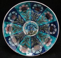 William De Morgan Dish  Charles Passenger