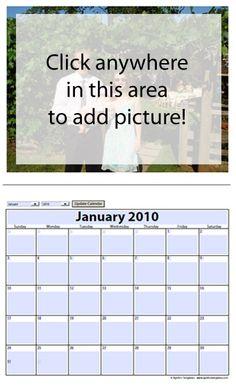 free 2019 2020 photo calendar template for microsoft word