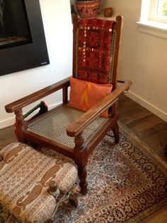 My late FIL's fav chair, and now mine too