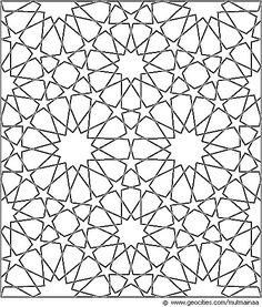 islamic geometric star