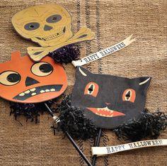 v i n t a g e   Halloween- I love this stuff !
