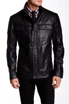 Askon Genuine Leather Jacket