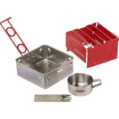 Image for Sterno® Outdoor Essentials Camp Stove Kit -  Walmart under $10.00 for the Hurricane Emergency Kit - (If the power goes out, I can still heat water for instant coffee or to heat soup)...
