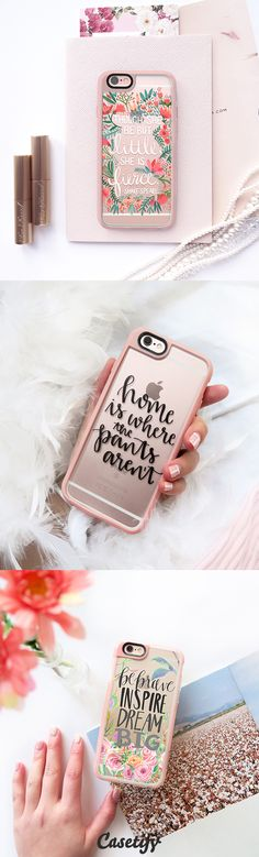 All time favourite Inspirational Quotes iPhone 6 protective phone case designs    Bring your favourite quote with you all the time! Click through to see more iphone phone case ideas >>> https://www.casetify.com/collections/inspirational_quotes   @casetify