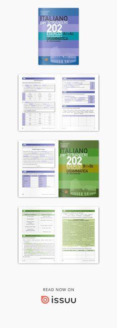 Presentazione dei volumi delle Edizioni alphabeta Italieno per Stranieri 202 Esercizi con soluzioni e grammatica di riferimento per i livelli A1>A2 e B1>B2
