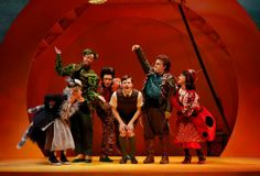 james and the giant peach  seattle children's theatre
