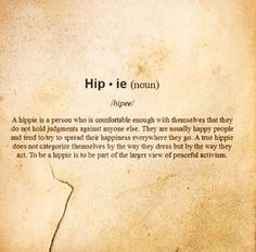 I luv hippies! ✌✌✌