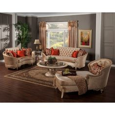 Found it at Wayfair.ca - Traditional Sofa and Loveseat Set ...
