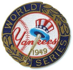 1949 New York Yankees World Series MLB Baseball Patch Cooperstown Collection