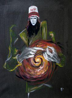 buckethead abstract