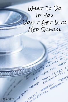 Med school isn't the only option. Check out these alternative programs!