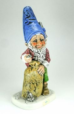 Brum Leading Lawyer Co-Boy Elf Gnome Figurine Goebel ...