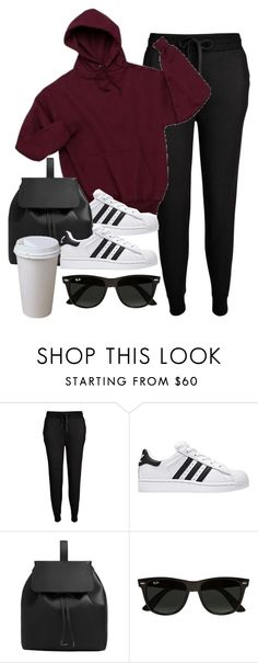 """""""Sin título #11931"""" by vany-alvarado ❤ liked on Polyvore featuring T By Alexander Wang, MANGO and Ray-Ban"""