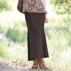 Sundance long brown skirt