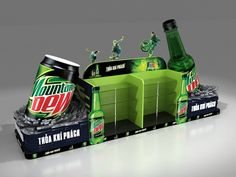 Mountain Dew Island on Behance