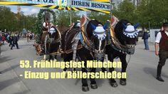 Frühlingsfest München 2017 - Einzug und Böllerschießen am 21.04.2017