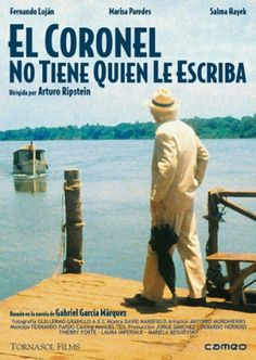 Watch->> No One Writes to the Colonel 1999 Full - Movie Online Gabriel Garcia Marquez, Classic Literature, Classic Books, Garcia Marques, Costa Rica, Library Week, O Drama, Free Films, Books