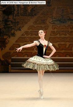 """Anna Antonicheva (Variation) with the Bolshoi Ballet in """"Paquita"""""""