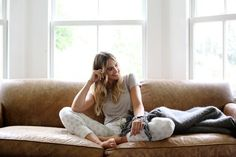Our relaxed, comfortable, sleep sets and loungewear are made from natural fibers and will make you wish you could wear them all day and all night! Browse Hazel Moon women's nightgown sets, comfy pajamas, and more. Sweaters For Women, T Shirts For Women, Bateau Neckline, Closet Staples, Loungewear, Boat Neck, Moon, Luxury, Tees