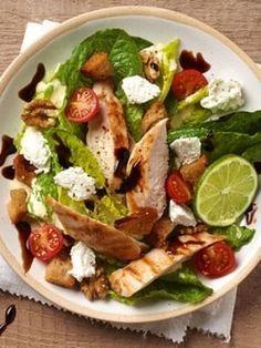 Salade Caesar légère au Carré Frais : La recette minceur de la semaine - Journal des Femmes