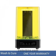 Look at this amazing Anycubic 3D Printer Wash And Cure Machine 2-in-1! Get it only for 169.83$! #3DPrinterParts #3DPrinters #3DPrintersandParts #ConsumerElectronics 3d Printer Parts, Uv Resin, Biro, Consumer Electronics, The Cure, Led, Lights, Window, Touch