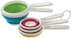 Amazon.com: Prepworks by Progressive Collapsible Measuring Cups - Set of 5: Kitchen & Dining
