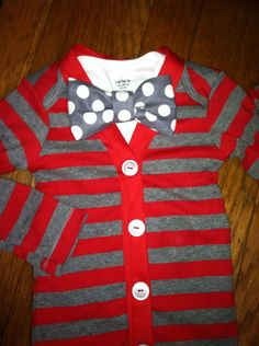 Baby Cardigan Onesie and Bowtie, Baby, Little Man Outfit, First Birthday Party, Baby's First Pictures on Etsy, $34.43 AUD