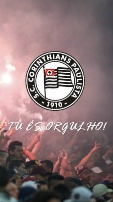 Wallpaper Corinthians - Tu És Orgulho Corinthians Time, Sport Club Corinthians, Wallpaper Corinthians, Football Posters, Sports Clubs, Juventus Logo, Instagram, Athens, Life
