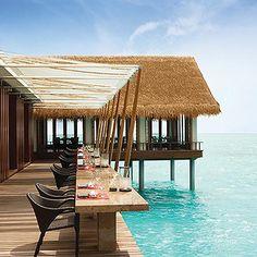 World's Best Restaurant Views: Tapasake, One&Only Reethi Rah; Maldives