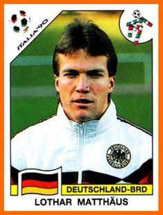 Lothar Matthaus, el jugador que ha participado en más Mundiales de Fútbol