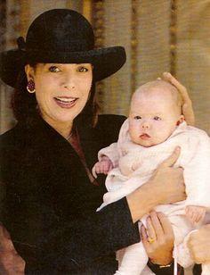 Princess Caroline of Monaco /Hanover and Her daughter Princess Alexandra