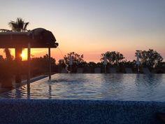 La natura ci ha regalato questo bellissimo tramonto!!! Vi aspettiamo! www.acaciaresort.eu