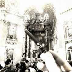 Une (pour l'instant) très rare Disposable Fuu, aperçue hier au Vatican.