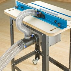 Dust Right® Router Table Dual Port & Rockler Woodworking and Hardware Dust Right® Router Table Dual Port & Rockler Woodworking and Hardware The post Dust Right® Router Table Dual Port Rockler Woodworking, Easy Woodworking Projects, Popular Woodworking, Fine Woodworking, Wood Projects, Woodworking Furniture, Shop Dust Collection, Router Table, Router Plate