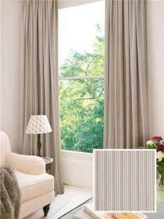 Ready Made Curtains In Rodeo. 100% Cotton