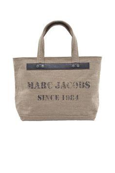 Marc Jacobs Burlap Jacobs Tote