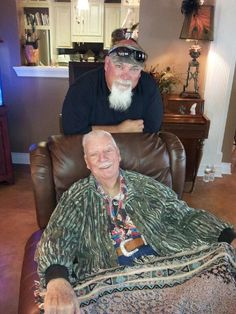 Duck Dynasty's Godwin & his dad
