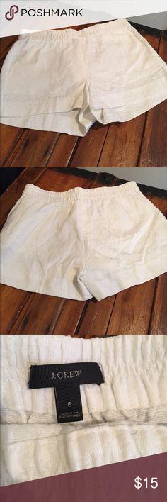 J Crew white shorts J Crew white shorts J. Crew Shorts