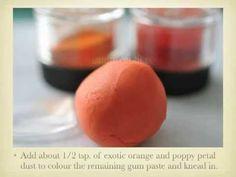 Gum Paste Poppy Tutorial