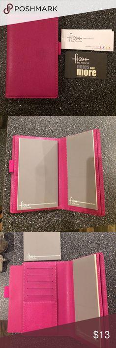 Filofax flex slim Pink Filofax in the slim size. Like new. filofax Other