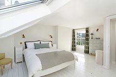 Loft conversion with sash window