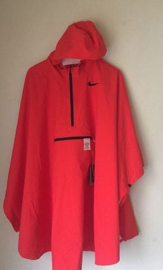 bba37d41 RARE 2017 Sp Nike Shield Desert Golf Rain Poncho Pull Over 840365-852 One  Size #NikeGolf #CoatsJackets